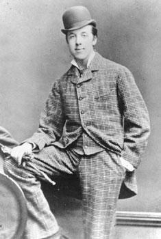 Oscar Wilde at Oxford - age 22