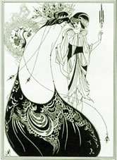 Salome - illustration by Aubrey Beardsley